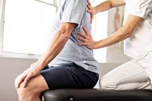 Bandscheibenvorfall Übungen Physiotheapie
